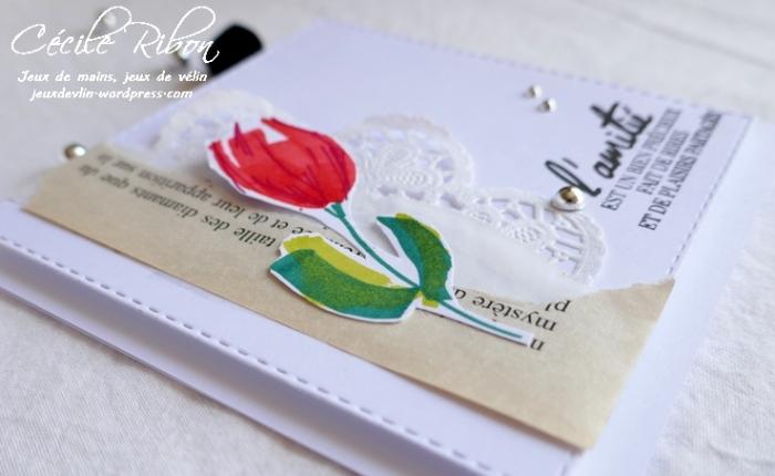 Une tulipe griffonnée#2