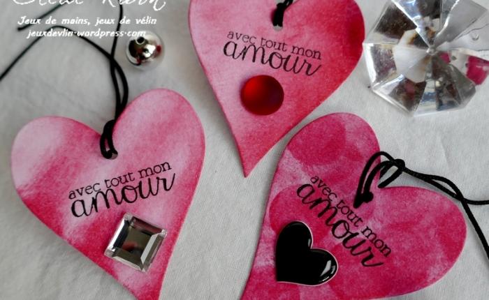Des étiquettes à gogo #17 – Du Glamour pour laSaint-Valentin.